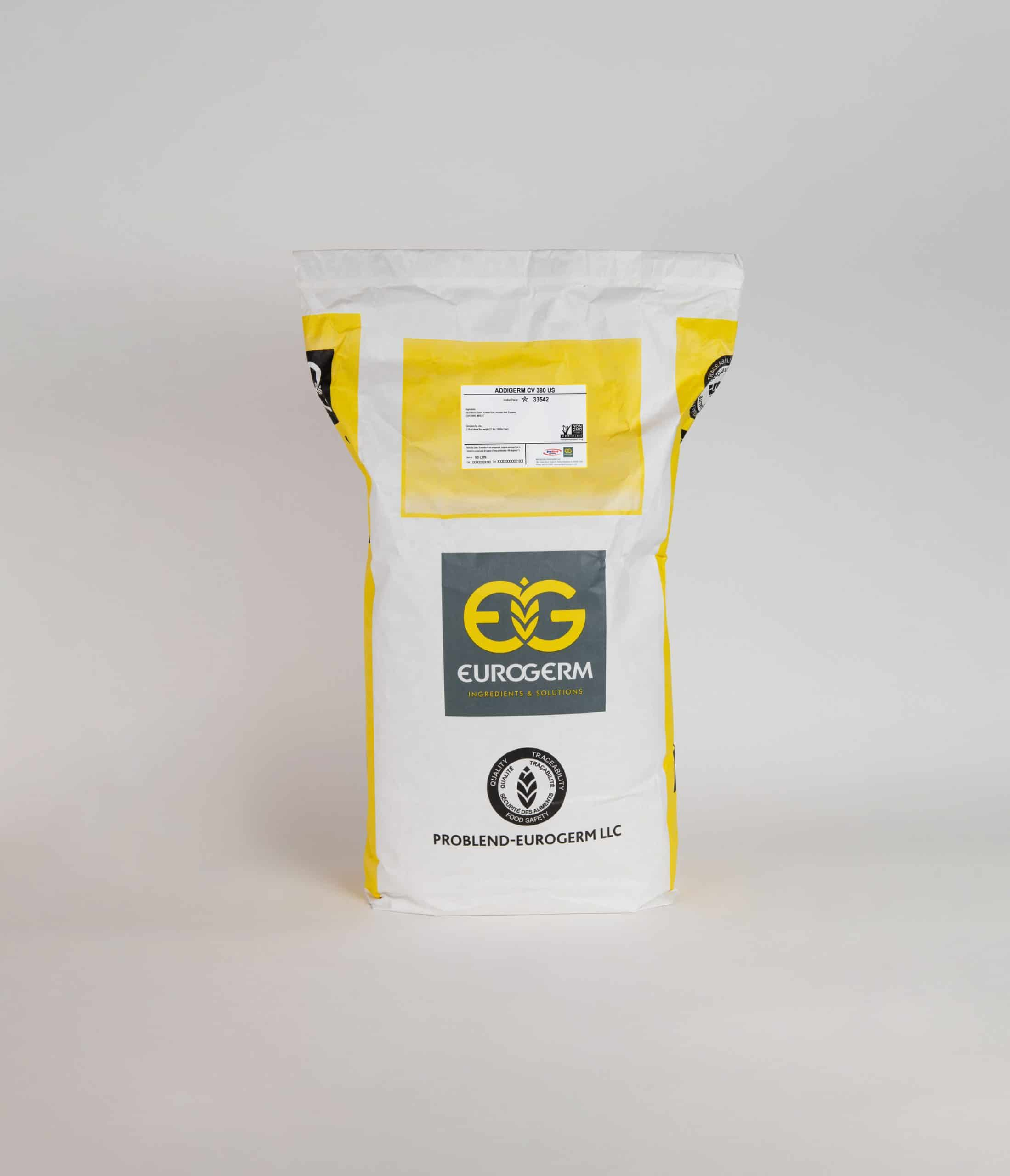 This Addigerm Cv380 Us - Frozen Laminated Dough Dough Conditioner (Item#33542 Eurogerm) is your Clean label dough con...