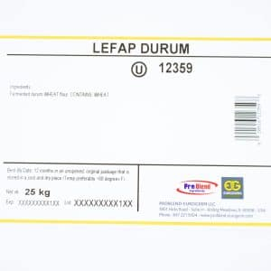 12359 Lefap Durum Label
